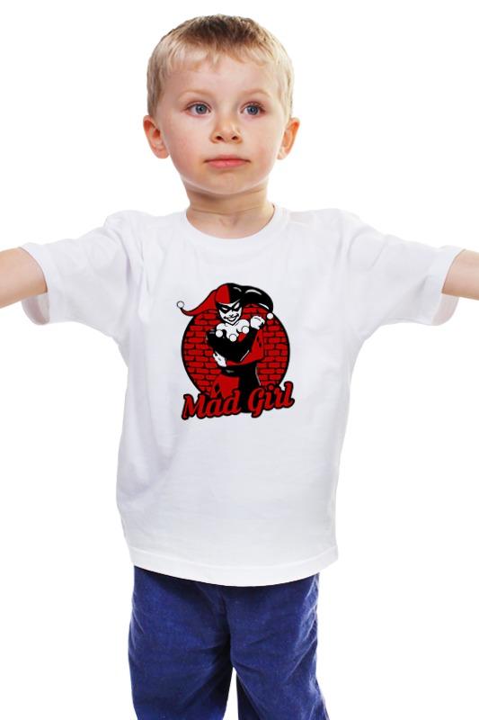 Детская футболка классическая унисекс Printio Харли квинн блокнот printio харли квинн