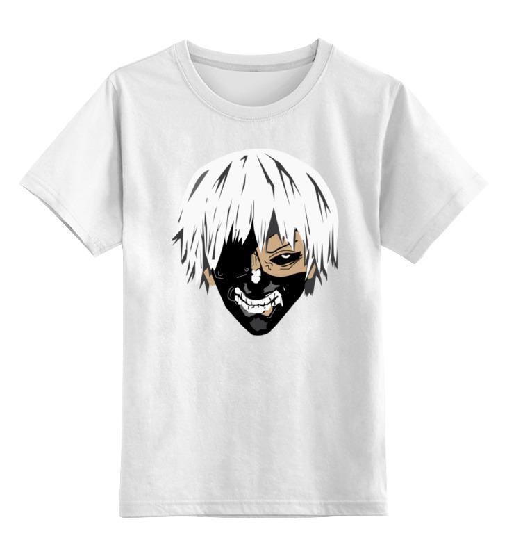 Детская футболка классическая унисекс Printio Кэн канэки футболка с полной запечаткой для мальчиков printio кэн канэки
