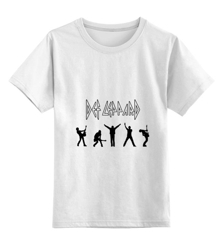 Детская футболка классическая унисекс Printio Def leppard детская футболка классическая унисекс printio def leppard band