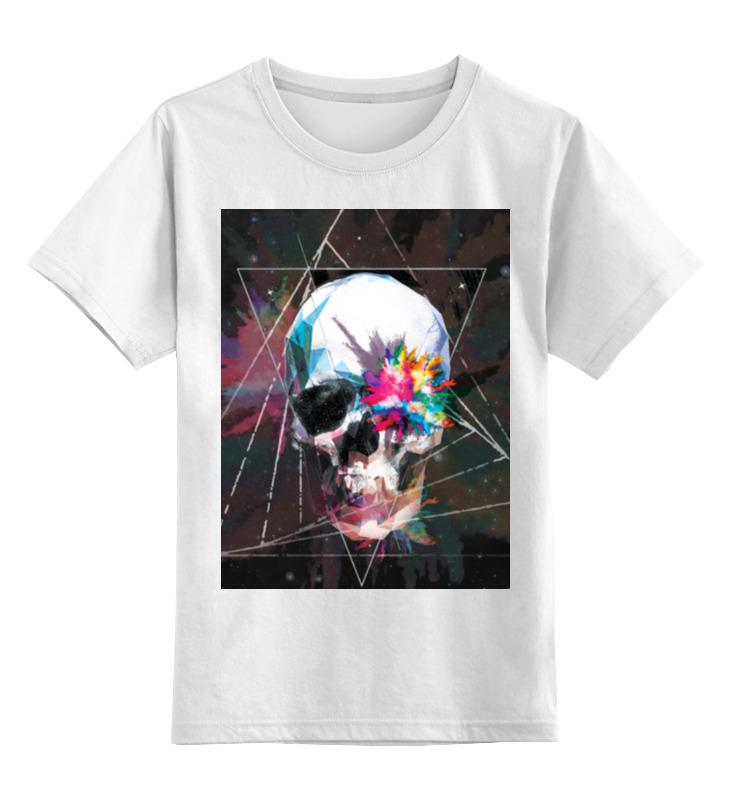 Детская футболка классическая унисекс Printio Skull - 18 детская футболка классическая унисекс printio low poly skull
