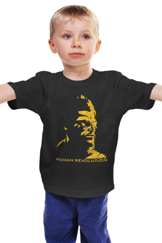 Детская футболка классическая унисекс Printio Human revolution (deus ex) deus ex