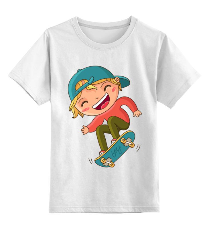 Детская футболка классическая унисекс Printio Скейтборд шапка классическая унисекс printio скейтборд