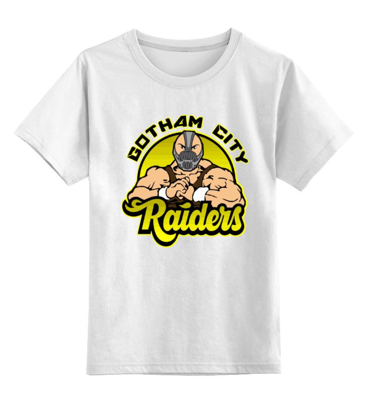 Детская футболка классическая унисекс Printio Бейн (bane) футболка с полной запечаткой для мальчиков printio бейн bane