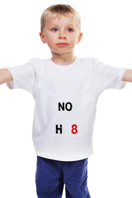 Детская футболка классическая унисекс Printio Noh8 детская футболка классическая унисекс printio мачете