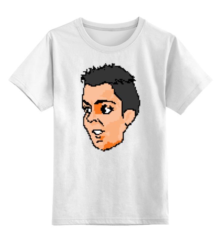 Детская футболка классическая унисекс Printio Криштиану роналду (футболист) футболка криштиану роналду