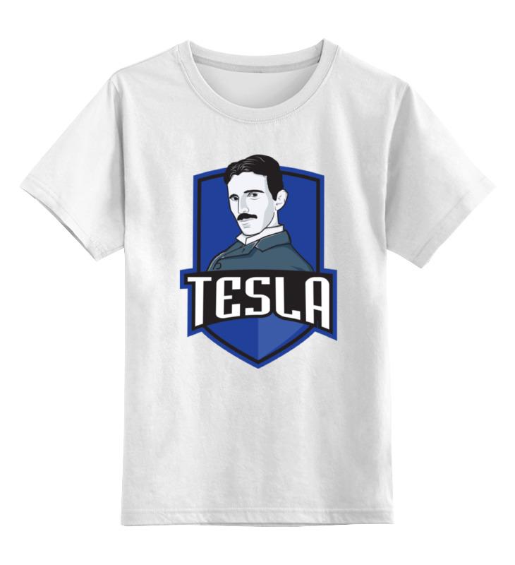 Детская футболка классическая унисекс Printio Никола тесла никола тесла – повелитель молний научное расследование удивительных фактов