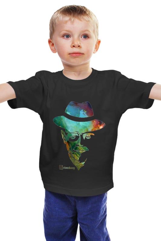 Детская футболка классическая унисекс Printio Breaking bad   во все тяжкие heisenberg фартук printio breaking bad