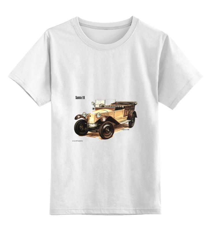 Детская футболка классическая унисекс Printio Ретроавтомобили 6 цена и фото