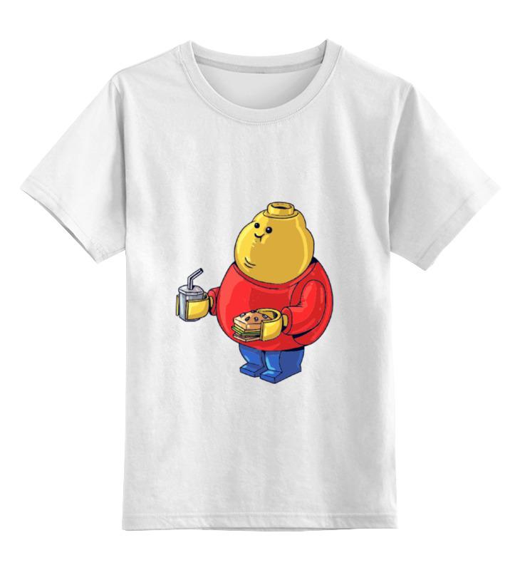 Детская футболка классическая унисекс Printio Fat legoman майка классическая printio fat legoman