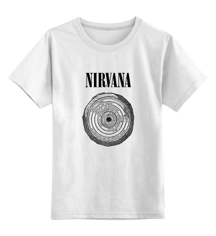 Детская футболка классическая унисекс Printio Nirvana детская футболка классическая унисекс printio nirvana
