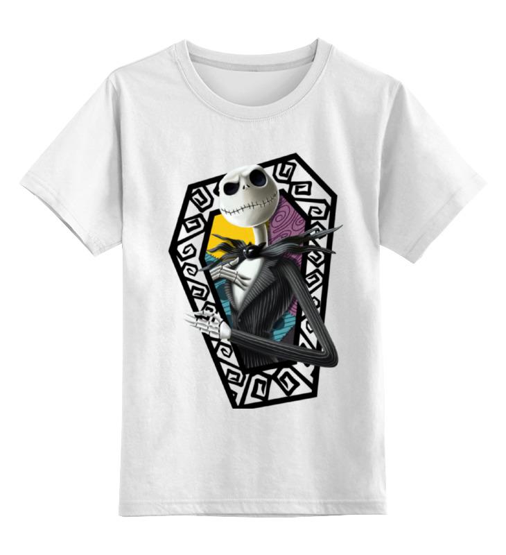 Детская футболка классическая унисекс Printio Скелет детская футболка классическая унисекс printio скелет пули