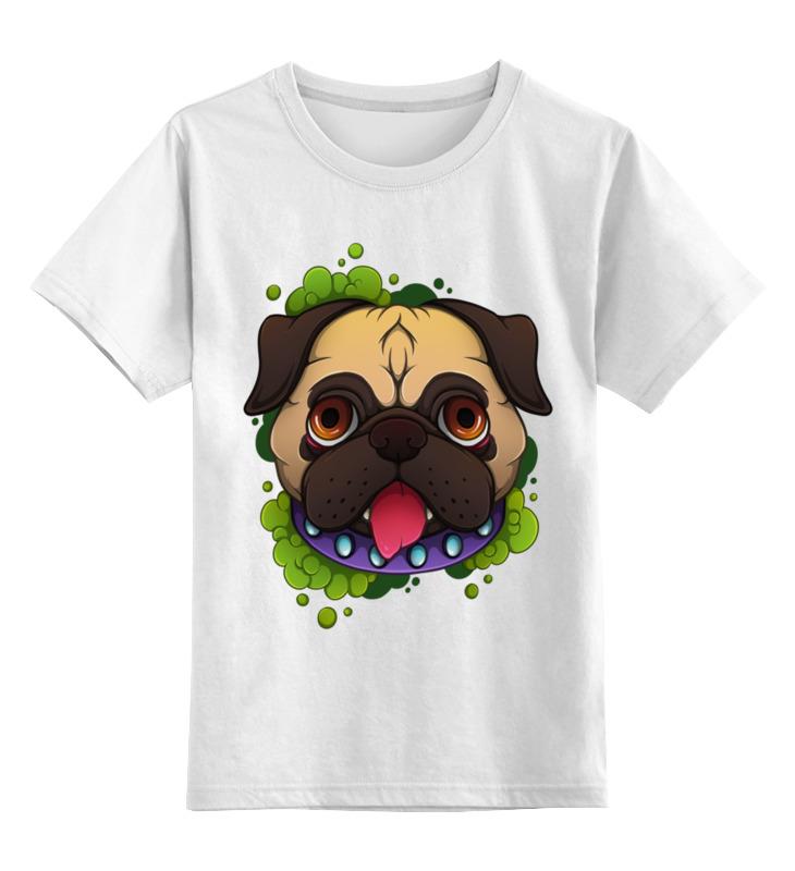 Детская футболка классическая унисекс Printio Мопсик детская футболка классическая унисекс printio классическая футболка dota 2