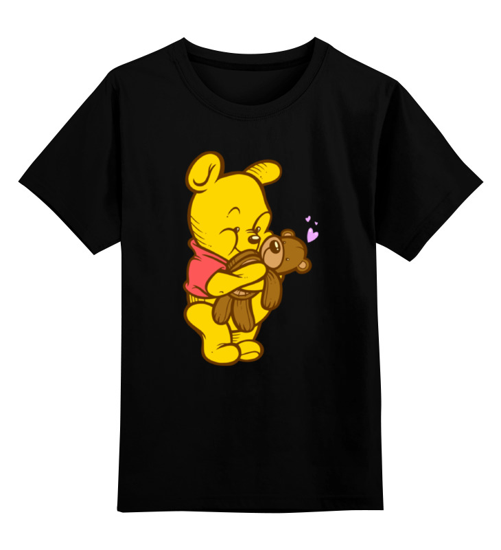 Детская футболка классическая унисекс Printio Винни пух детская футболка классическая унисекс printio винни пух