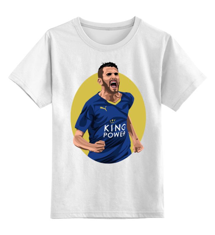 Детская футболка классическая унисекс Printio Рияд марез (футболист) цена