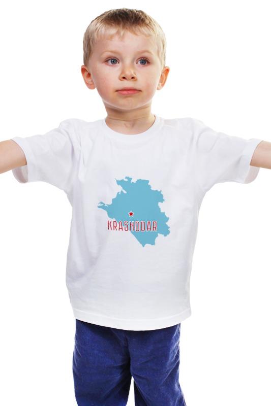 Детская футболка классическая унисекс Printio Краснодарский край. краснодар купить 1 комнатную квартиру в г красноармейске краснодарского края