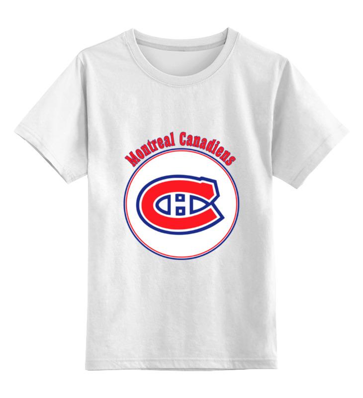Детская футболка классическая унисекс Printio Montreal canadiens детская футболка классическая унисекс printio карандаш и самоделкин