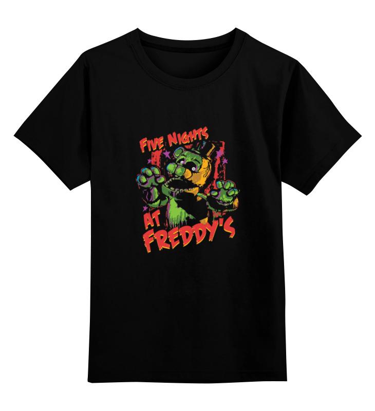 Детская футболка классическая унисекс Printio Пять ночей у фредди (five nights at freddy's) цена и фото