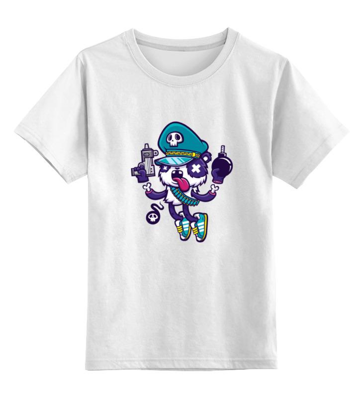 Детская футболка классическая унисекс Printio Зомби детская футболка классическая унисекс printio steeler зомби