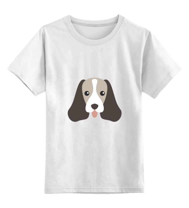 Детская футболка классическая унисекс Printio Спаниель английский спаниель щенки в чебоксарах