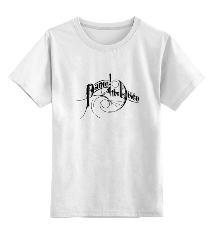 Детская футболка классическая унисекс Printio Panic! at the disco panic at the disco panic at the disco vices virtues