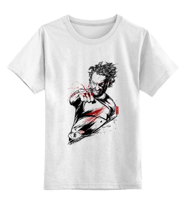 Детская футболка классическая унисекс Printio Рик из ходячих мертвецов детская футболка классическая унисекс printio рик пьет