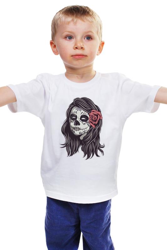 Детская футболка классическая унисекс Printio Зомби хеллоуина пикуль в сост нечистая сила