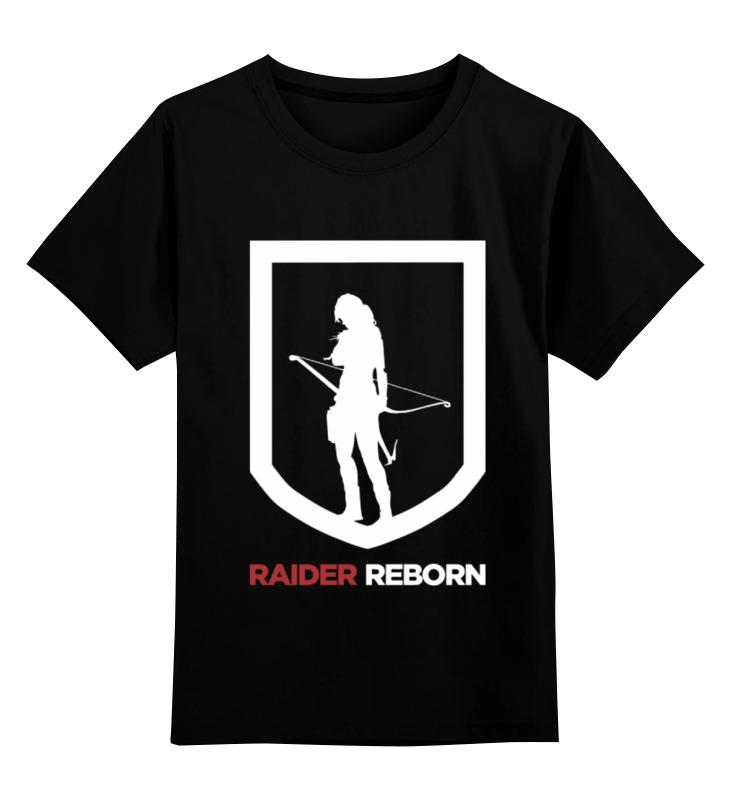 Детская футболка классическая унисекс Printio Tomb raider (reborn) майка классическая printio tomb raider reborn
