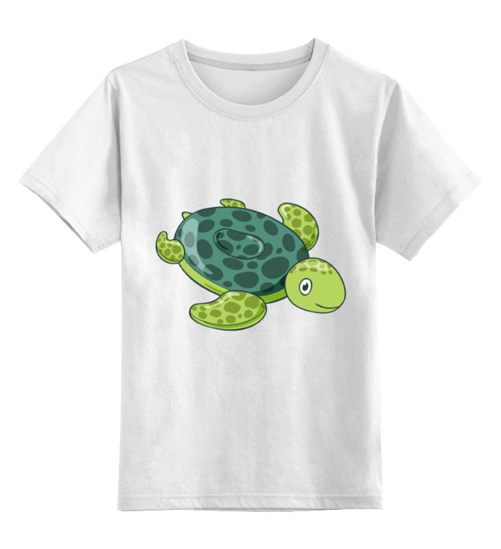 Детская футболка классическая унисекс Printio Черепаха детская футболка классическая унисекс printio черепаха