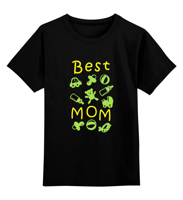 Детская футболка классическая унисекс Printio Best mom детская футболка классическая унисекс printio best mom