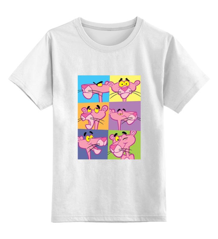 Детская футболка классическая унисекс Printio Розовая пантера футболка стрэйч printio розовая пантера
