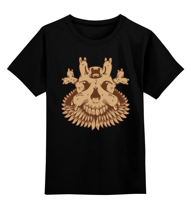 Детская футболка классическая унисекс Printio Scull / череп детская футболка классическая унисекс printio owl scull сова и череп