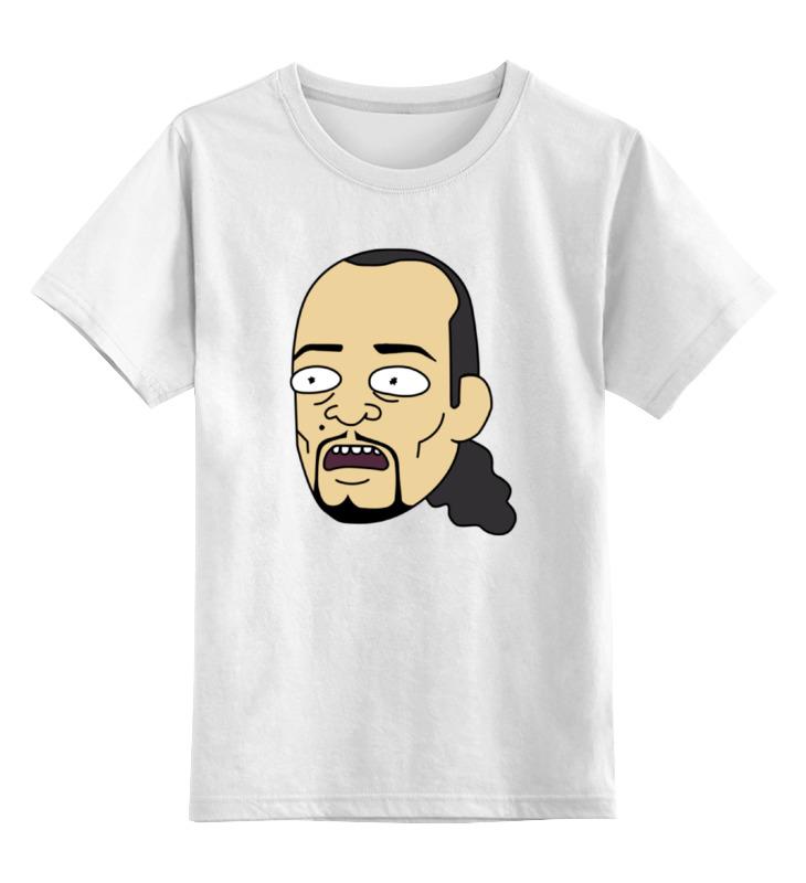 Детская футболка классическая унисекс Printio Ice-t (айс ти) двигатель на таун айс