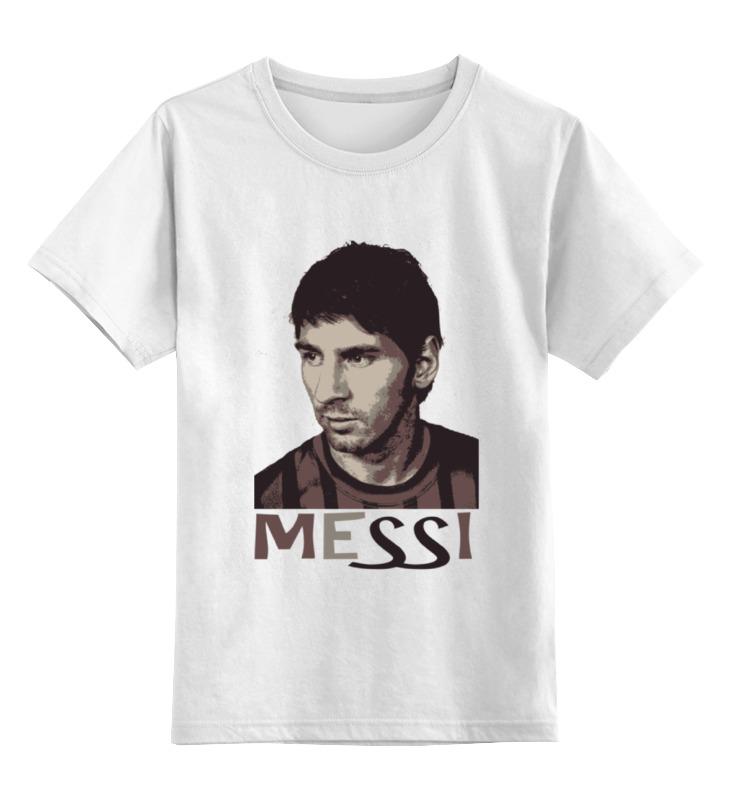 Детская футболка классическая унисекс Printio Messi футболка футболиста