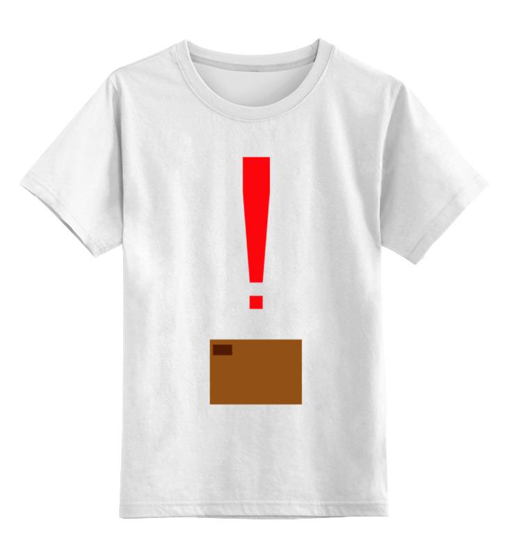 Детская футболка классическая унисекс Printio Коробка (metal gear solid)