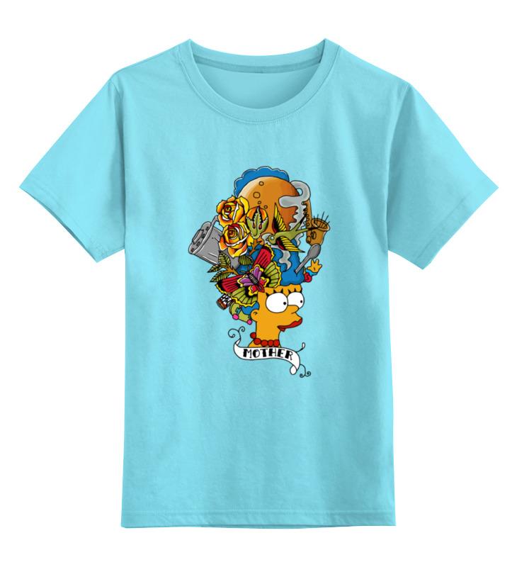 Детская футболка классическая унисекс Printio Мардж симпсон (mother) игрушка мягкая мардж симпсон