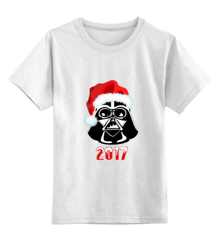 Детская футболка классическая унисекс Printio Darth vader новый год футболка классическая printio новый год