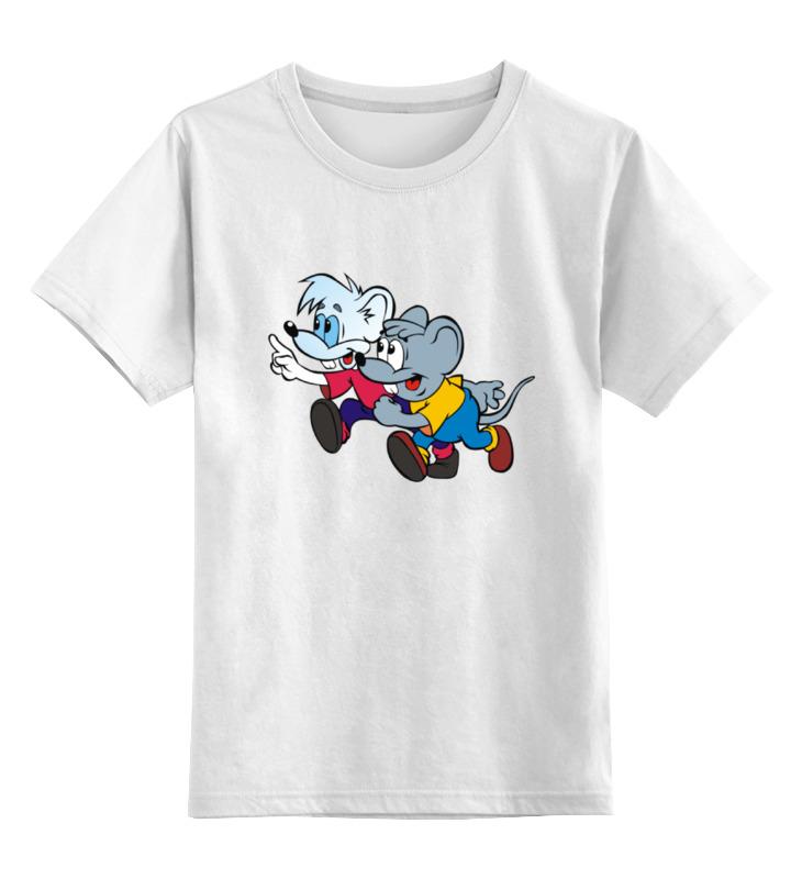 Детская футболка классическая унисекс Printio Mouse hooligans футболка классическая printio mecha mouse