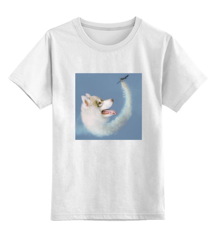 Детская футболка классическая унисекс Printio Рисунок футболка рисунок