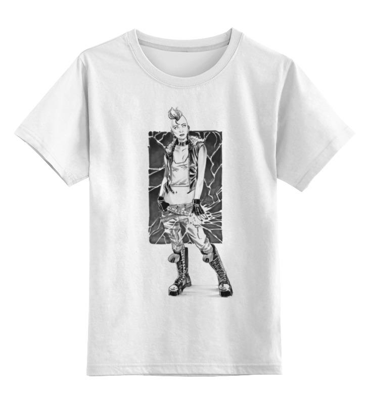 Детская футболка классическая унисекс Printio Punk girl детская футболка классическая унисекс printio punk girl