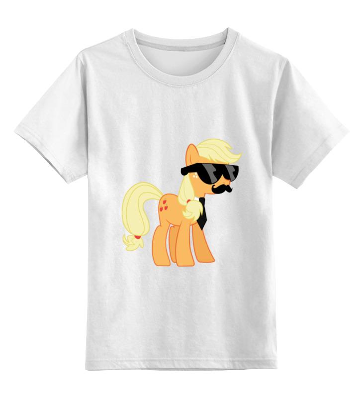 Детская футболка классическая унисекс Printio My little pony - applejack (эпплджек) детская футболка классическая унисекс printio my little pony герб applejack эпплджек