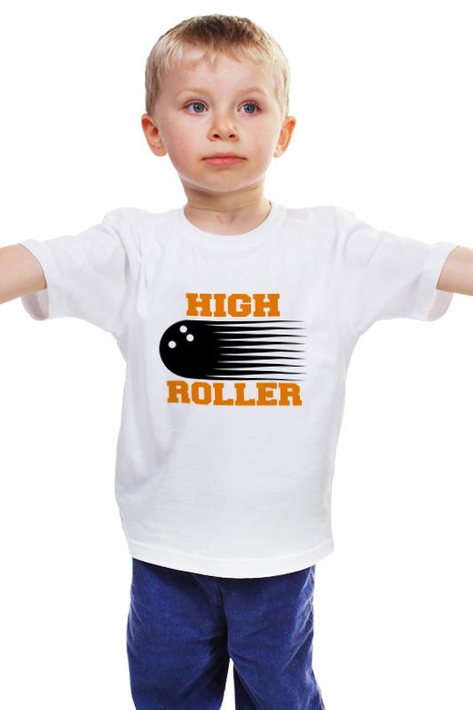 Детская футболка классическая унисекс Printio Боулинг подвес боулинг белый