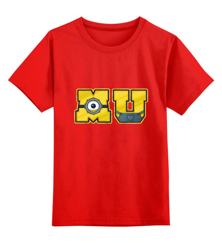 Детская футболка классическая унисекс Printio Университет миньонов детская футболка классическая унисекс printio университет миньонов