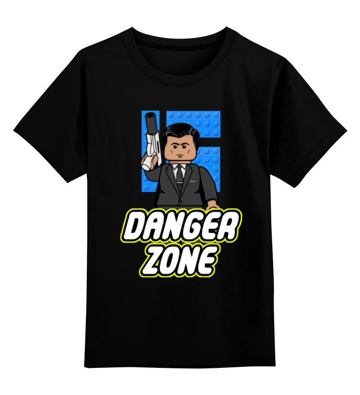 Детская футболка классическая унисекс Printio Лего (опасная зона) детская футболка классическая унисекс printio лего lego