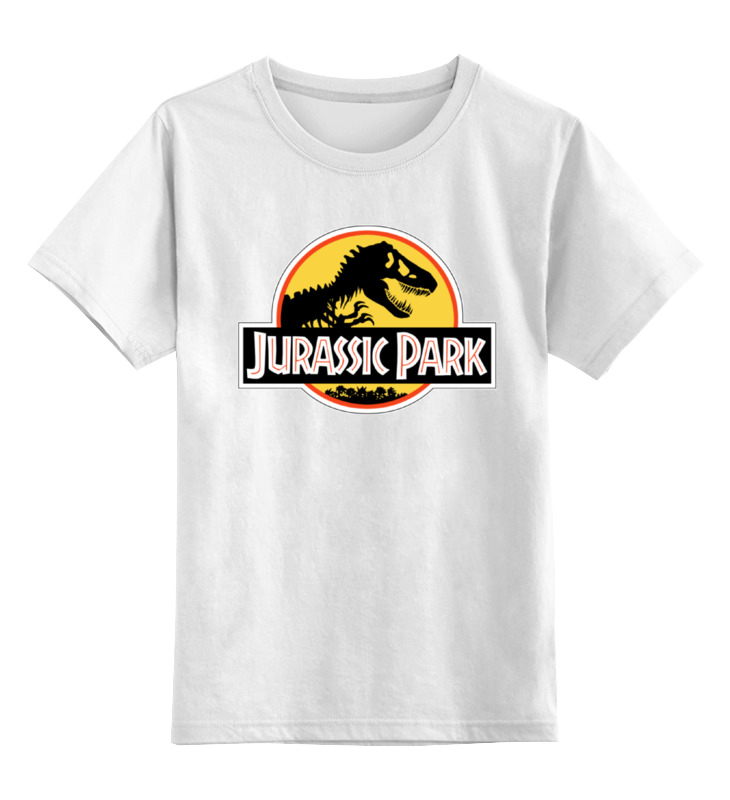 Фото - Детская футболка классическая унисекс Printio Парк юрского периода конструктор автомобильный парк 7 в 1