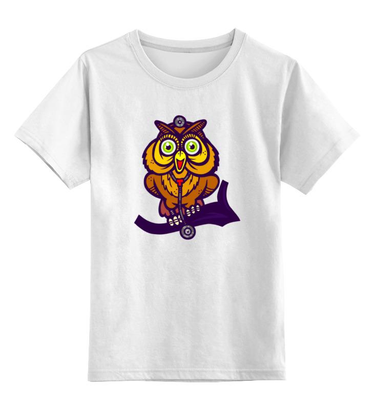 Детская футболка классическая унисекс Printio Сова (owl) детская футболка классическая унисекс printio owl scull сова и череп