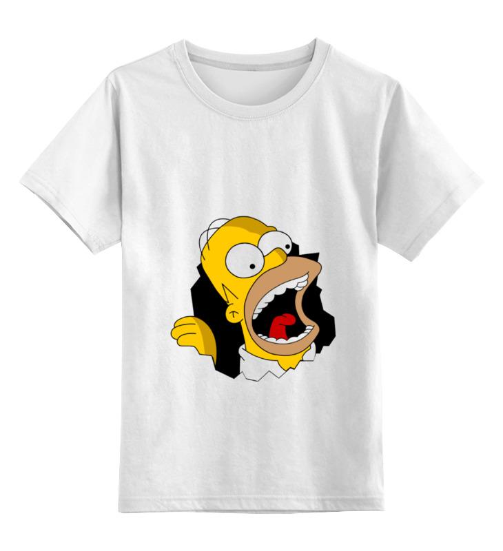 все цены на Детская футболка классическая унисекс Printio Homer simpson онлайн