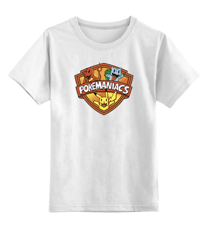 Детская футболка классическая унисекс Printio Покемон (pokemon)