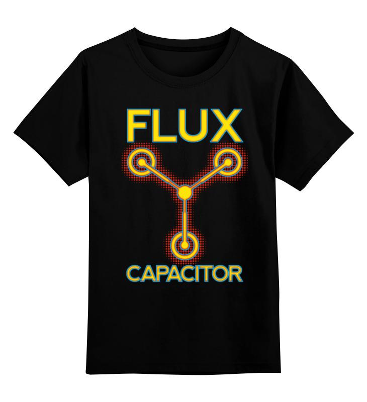 Детская футболка классическая унисекс Printio Энергетический флюксуатор