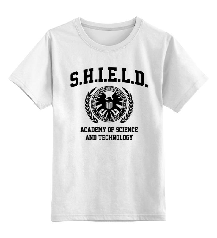 Детская футболка классическая унисекс Printio S.h.i.e.l.d. academy кружка printio щ и т