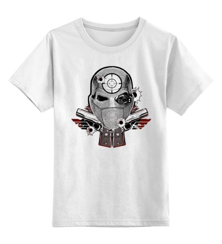 Детская футболка классическая унисекс Printio Отряд самоубийц наушники philips she1350 00